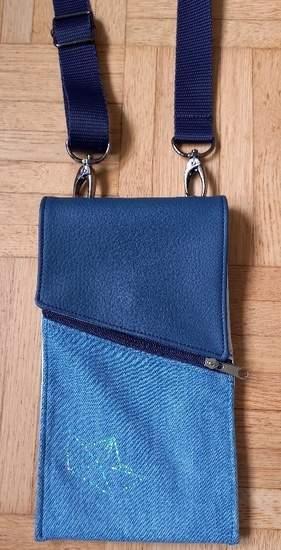 Makerist - Handy-Bag aus Jeans für neues Handy - 1