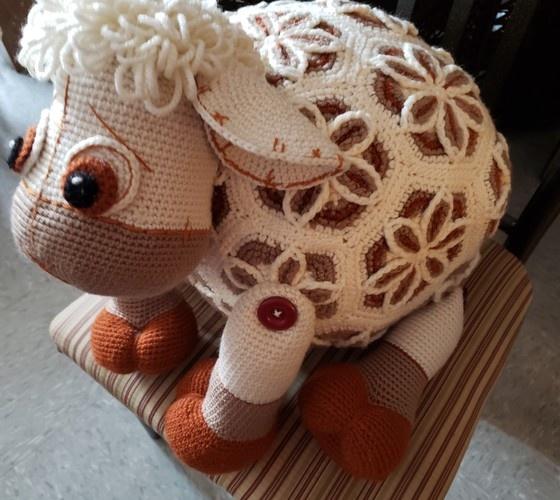 Makerist - Lover Lamb, crochet with acrylic, goal was a challenge - Crochet Showcase - 1