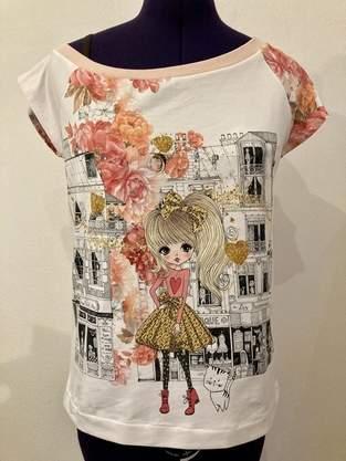 Makerist - Schulterfreies Shirt mit Panel - 1