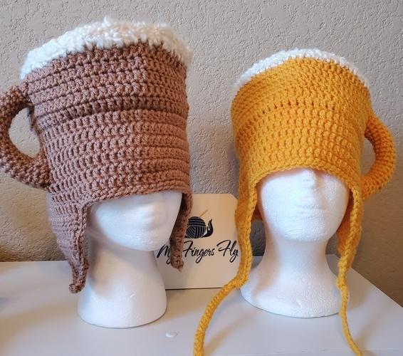 Makerist - Beer Mug Hat - Crochet Showcase - 1