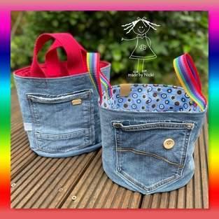Makerist - Jeans-Körbe - 1