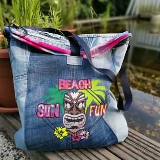 Makerist - Upcycling-Projekt : eine Strap Bag mit B. Style verschönert  - 1