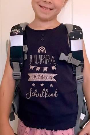Makerist - Schulkind-Shirt - 1