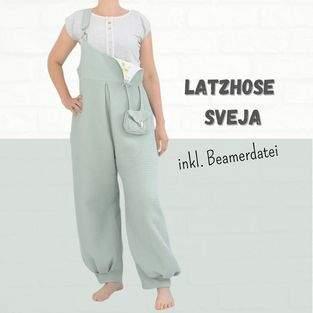 Makerist - Latzhose Sveja aus Webstoffe für Damen - 1