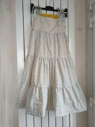 Makerist - Robe d'été Hélèna maxi en coton fin pour Albane ma petite fille de 9 ans - 1