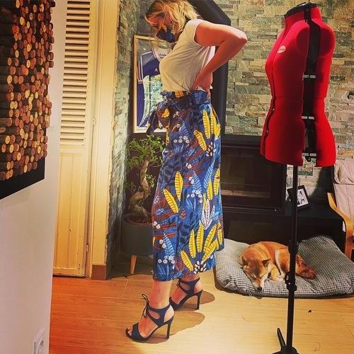 Makerist - Jupe culotte désinvolte  - #makeristalamaison - 2