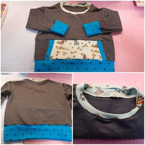 Makerist - Sweat Mahe pour mon petit bonhomme - Créations de couture - 1