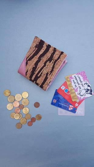 Makerist - Geldbeutel Tobi aus Kunstleder und Kork - 1