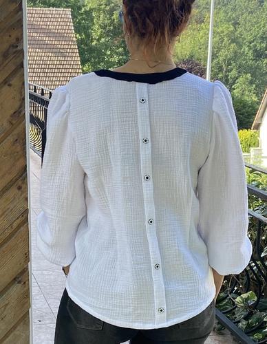 Makerist - Sublime blouse Rachel  - Créations de couture - 2