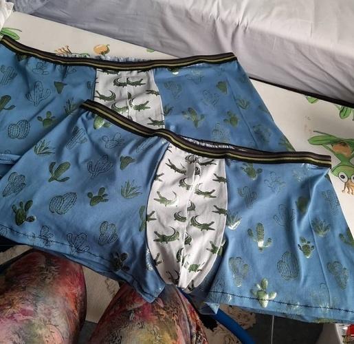 Makerist - Boxer Jacques pour mon chéri crée en jersey coton. - Créations de couture - 1