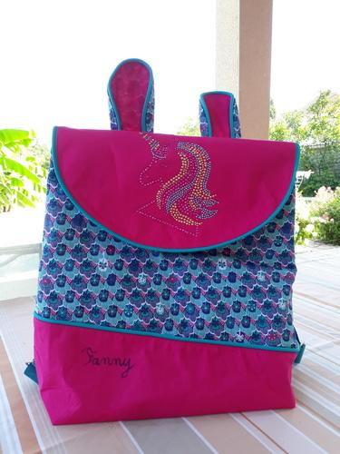 Makerist - Cartable maternelle - Créations de couture - 1