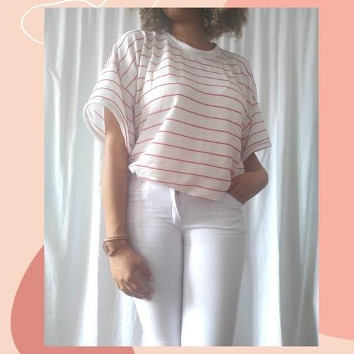 Makerist - Tee-shirt Ross marinière - Créations de couture - 1