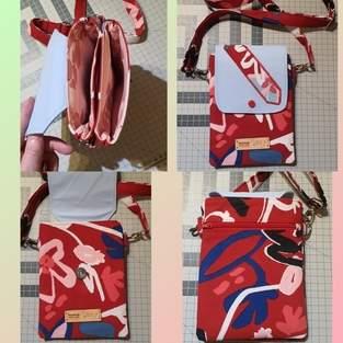 Makerist - Double Cross Body Pocket - Handytasche - 1