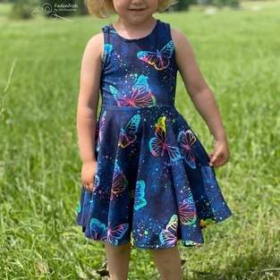 Makerist - Drehkleid für die Tochter  - 1