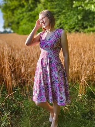 Makerist - Ein tolles Jersey Kleid für mich - 1