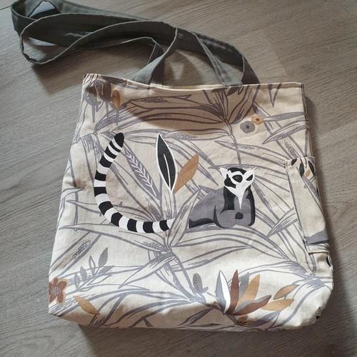 Makerist - Tote bag avec poche(s) extérieure(s) - Créations de couture - 1