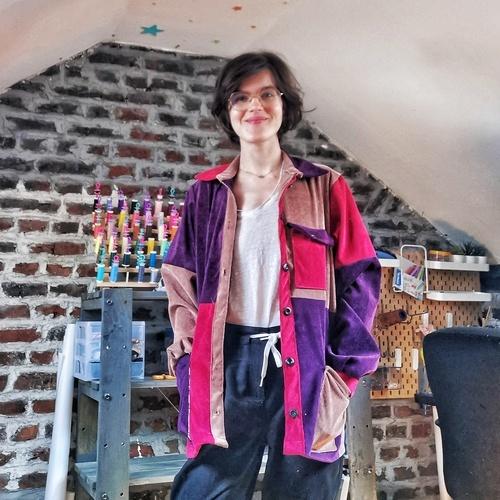 Makerist - Veste Joey - Velours côtelé - Créations de couture - 1