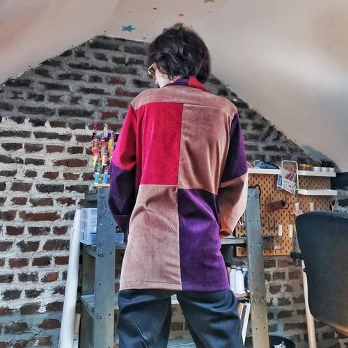 Makerist - Veste Joey - Velours côtelé - Créations de couture - 2