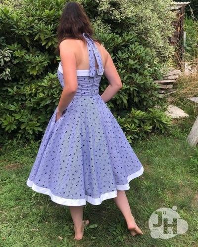 Makerist - Shirley - Mein schönstes Kleid im Schrank aus Webware für mich - Nähprojekte - 2