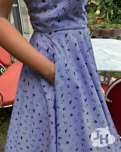 Makerist - Shirley - Mein schönstes Kleid im Schrank aus Webware für mich - Nähprojekte - 3