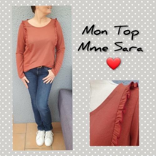 Makerist - Mon Top Mme Sara par Anne LeChat - Créations de couture - 1