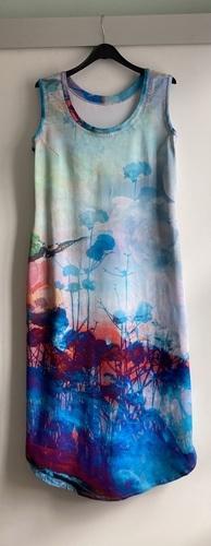 Makerist - Robe Émélie en jersey extensible faite pour les 40 ans de ma fille - Créations de couture - 1