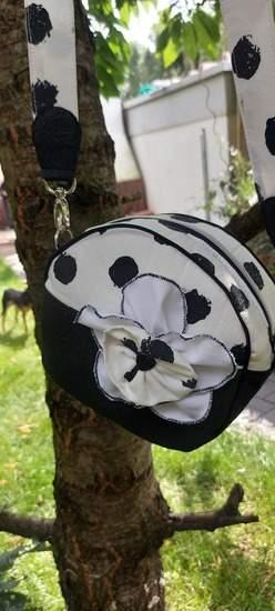 Makerist - Rundes Täschchen aus Kunstleder und Canvas  - 1