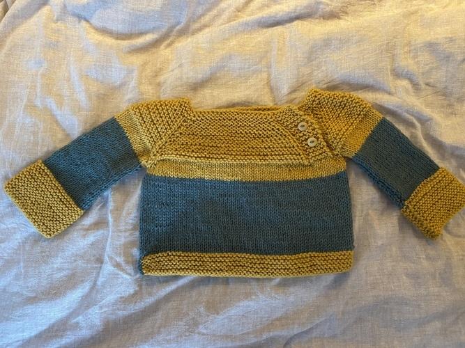 Makerist - Raglanpullover für Kleinkinder - Strickprojekte - 1