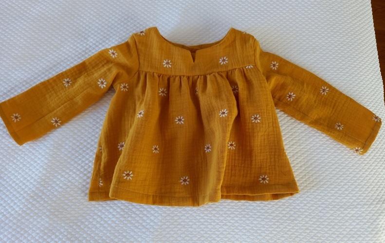 Makerist - Blouse bébé  - Créations de couture - 1