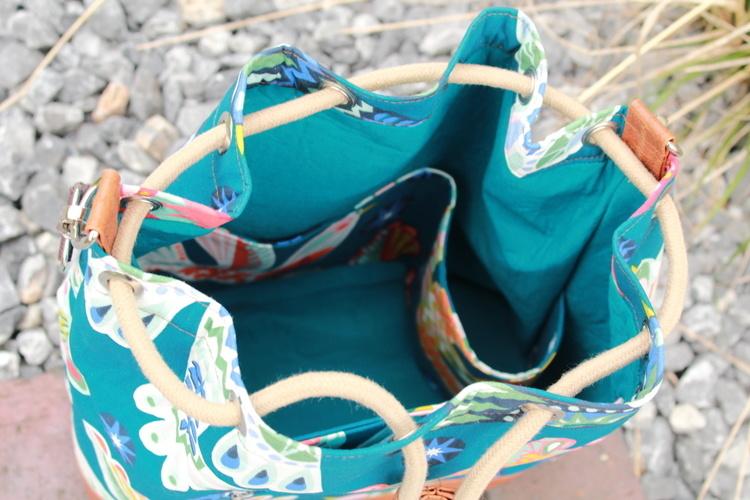 Makerist - Bucket Bag Laetizia aus Baumwolle und Kunstleder  - Nähprojekte - 2
