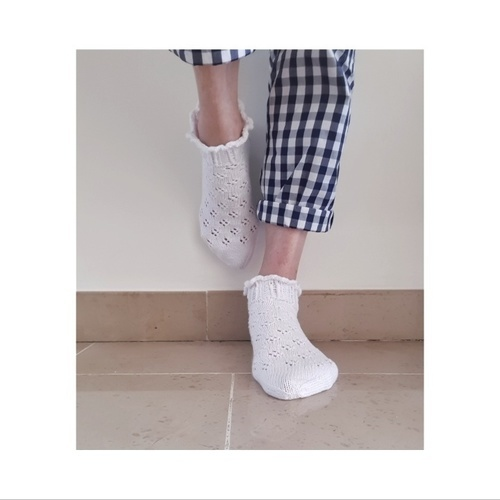 Makerist - Tricoter ses chaussettes ?? Même pas peur !!!! - Créations de tricot - 1
