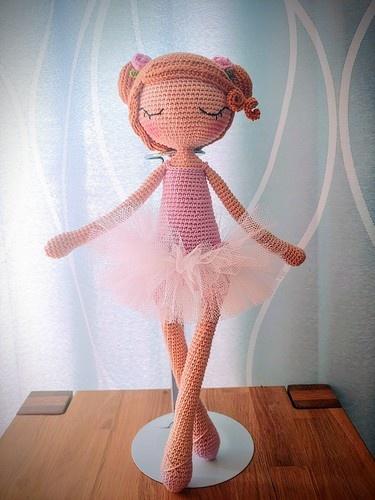 Makerist - Ballerina Ida - Häkelprojekte - 1