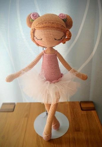 Makerist - Ballerina Ida - Häkelprojekte - 3