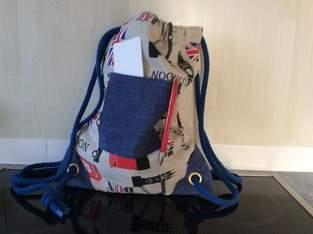 Makerist - Kinderleichtrucksack zum schulanfangkinderrucksack  - 1