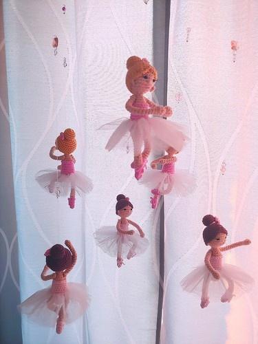 """Makerist - Mobile """"Ballerina"""" - Häkelprojekte - 2"""