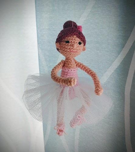 """Makerist - Mobile """"Ballerina"""" - Häkelprojekte - 3"""