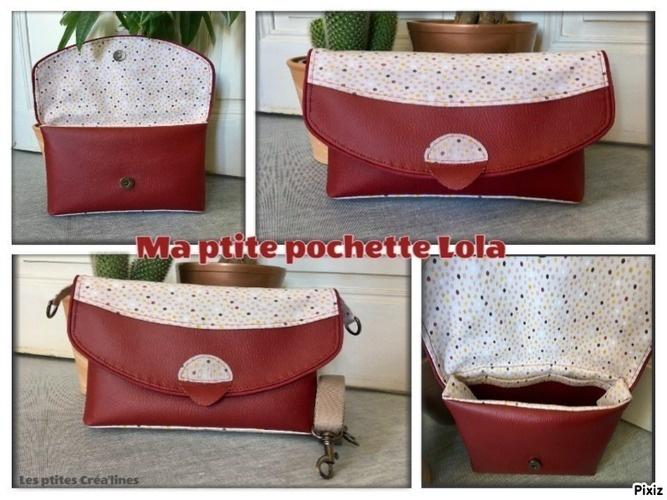 Makerist - Pochette Lola, pour maman - Créations de couture - 1