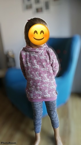 Makerist - Floral Musselin hoodie - Nähprojekte - 2