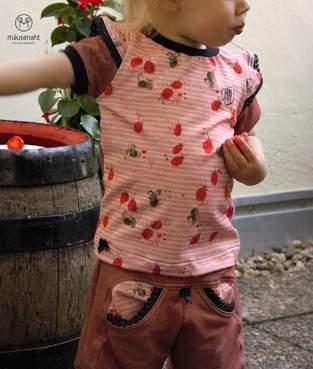 Makerist - KidsBasicShirt Sommer :) - 1