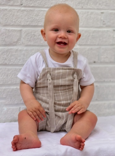 Makerist - Baby Dungarees by North Patterns - Sewing Showcase - 3