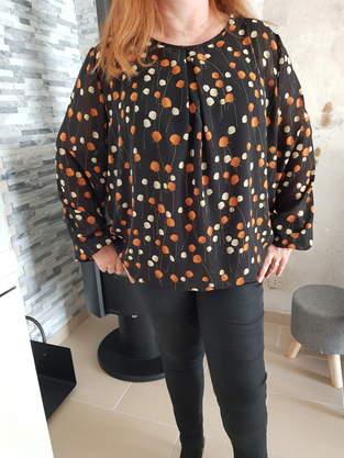 Makerist - Chemisier SUKI en 2 styles différents : effet blouse et jersey - 1