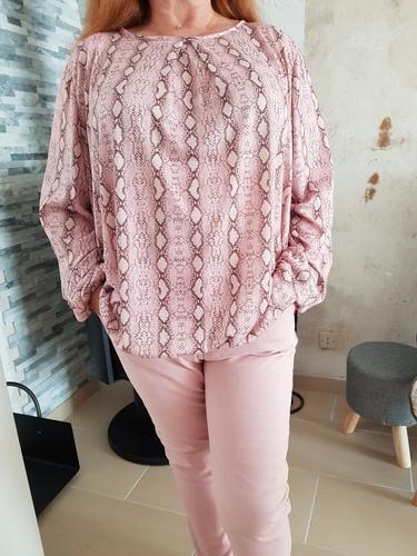 Makerist - Chemisier SUKI en 2 styles différents : effet blouse et jersey - #makeristalamaison - 2