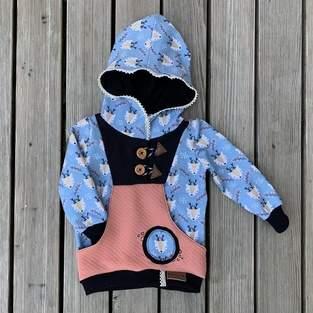 Makerist - Hoodie Knöpfli von FrleinFaden aus Sommersweat - 1