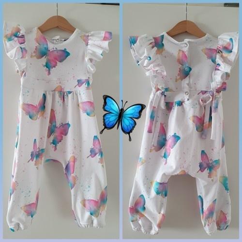 Makerist - Lovely Butterfly Jumpsuit - Nähprojekte - 1