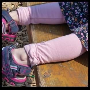 Makerist - Lütten legs mit Knotenband  - 1