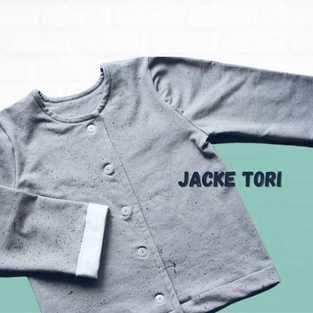 Makerist - Kinderjacke Tori Gr. 80-140 aus Jersey - 1