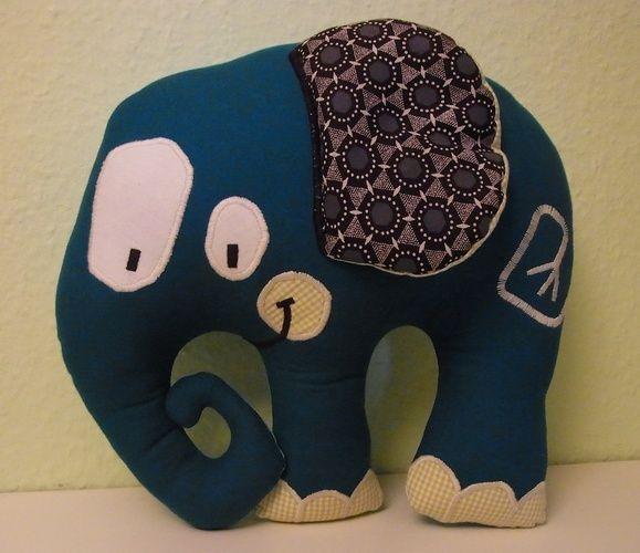 Makerist - Stofftier Elefant - Nähprojekte - 1