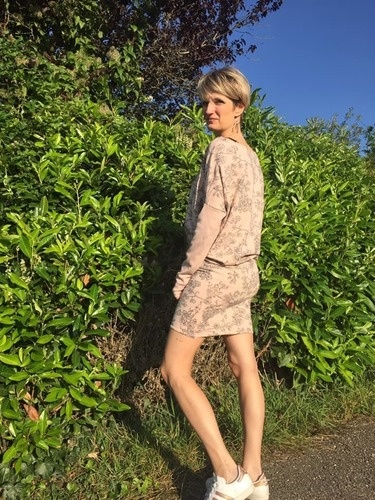 Makerist - Robe Zanka en Cherry Blossom SYAS - Créations de couture - 1