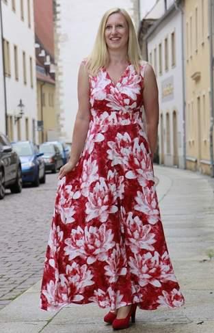 Makerist - Kleid Sophie aus Viskosejersey - 1
