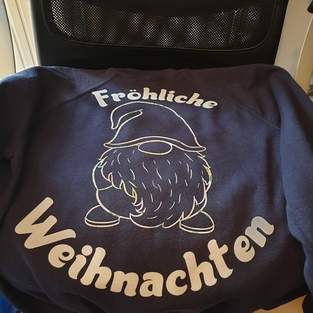 Makerist - Sweatshirt mit Flockfolie  - 1